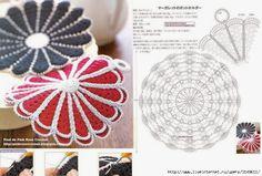 Crochet patterns in 1 Image - patterns Crochet Crochet Chart, Filet Crochet, Crochet Motif, Crochet Designs, Crochet Doilies, Crochet Flowers, Crochet Towel, Crochet Potholders, Crochet Squares