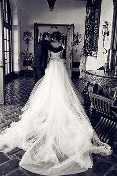 Romantic Diamond Wedding Dress by M-Ceasy