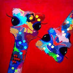 """""""Diva's"""", Acrylic on Canvas, 80x80cm"""