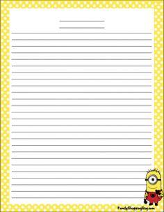 Stationery - Free Printable