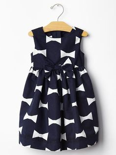 Kate Spade New York ♥ GapKids bow print dress Product Image