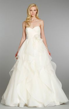 Romantic ~ Hayley Paige Fall 2013 Bridal Collection