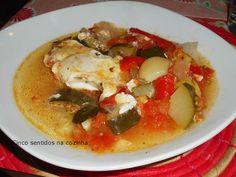 Cinco sentidos na cozinha: Legumes estufados com ovos escalfados- Gourmet 400...