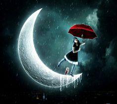 Bailando bajo la lluvia.....
