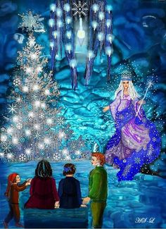 Das Christalfest der Schneekönigin