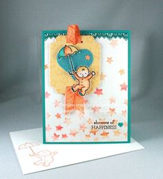 Moon Baby stamp set from Stampin' Up! (2017 Occasions Catalogue) - Designed by Cindy Major
