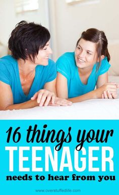 PARENTING TEENAGERS is a whole different experience. TEENS WANT TO TALK but they also want to be trusted and to be independent. These ideas will help you know HOW TO TALK TO TEENS.