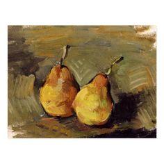 Cezanne - Two Pears Postcard