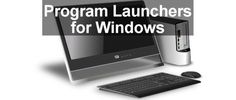 3 free program launchers for Windows that save time and effort. If you are not a fan of the Start menu in Windows 10, here are three alternative program launchers, including one that emulates the Mac's dock. They work on Windows 7 too.