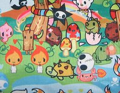 Fall 2006 tokidoki for LeSportsac Collection  The Fall 06 collection featured 5 prints.  The Foresta Print (inside color – orange):