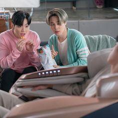 Jungkook and Jimin (BTS × Bodyfriend) Jikook, Seokjin, Hoseok, Namjoon, Hip Hop, K Pop, Bts Bangtan Boy, Bts Jungkook, Bts Ships