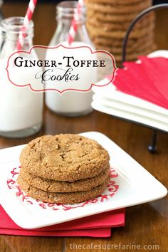 The Café Sucré Farine: Ginger-Toffee Cookies