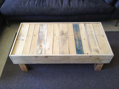 Pallet Wood Coffee Table. $700.00, via Etsy.