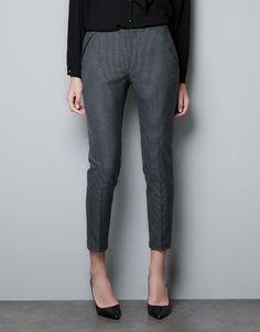 COMBINED TROUSERS - Trousers - Woman - ZARA Turkey 90 TRY