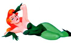 bruce timm   Poison Ivy by Bruce Timm by Mythical-Mommy