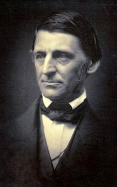 Poet Ralph Waldo Emerson, born May 25, 1803.