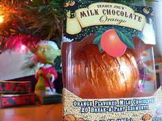 A chocolate ORANGE is a fruit, right? Trader Joe's Milk Chocolate Orange reviewed.