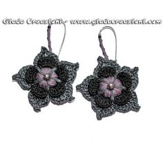 Giada Creazioni, crochet earrings