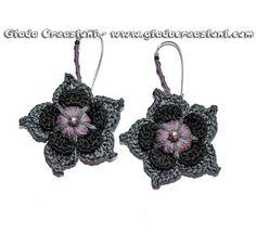 Giada Creazioni, crochet earrings
