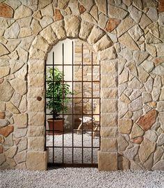 1000 images about rivestimenti in pietra da esterno on pinterest travertine floors sardinia - Pietra da rivestimento esterno ...