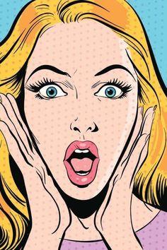 ICON : Comic Book Font, Roy Lichtenstein Pop Art, Desenho Pop Art, Art Spiegelman, Funky Wallpaper, Pop Art Girl, Art Pop, Romance Comics, Pop Art Posters