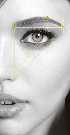 Eyebrow Makeup Tips, Permanent Makeup Eyebrows, Contour Makeup, Beauty Makeup, How To Make Eyebrows, Perfect Eyebrows, Eye Make Up, Mircoblading Eyebrows, Brown Hair Cuts