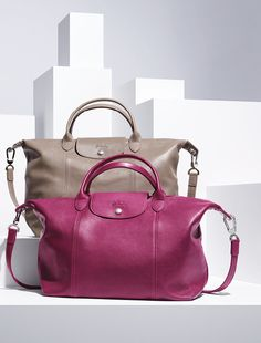 Longchamp Fall 2013 new collection. Discover it on www.longchamp.com - Have 2, might have to add a 3rd to my collection in leather!