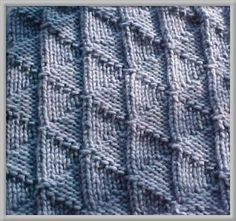 Flying Geese Dishcloth By Vaunda Rae Giberson - Free Knitted Pattern - (groupepp) Knitted Dishcloth Patterns Free, Knitted Washcloths, Crochet Dishcloths, Knitting Patterns Free, Knit Patterns, Knit Purl Stitches, Knitting Stiches, Lace Knitting, How To Purl Knit