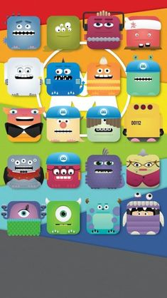 For the #Pixar Fans: Monsters Inc #iPhone5 Wallpaper