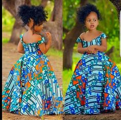 Ankara Styles For Kids, African Dresses For Kids, African Fashion Ankara, Latest African Fashion Dresses, African Dresses For Women, African Print Dresses, Dresses Kids Girl, African Attire, African Women Fashion