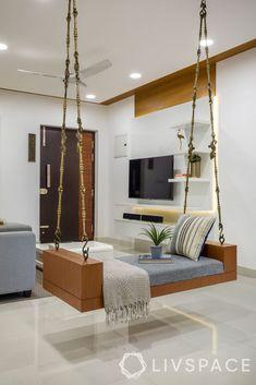 Living Room Partition Design, Living Room Tv Unit Designs, Ceiling Design Living Room, Room Partition Designs, Home Room Design, Interior Design Living Room, Ceiling Design For Home, Ceiling Decor, Bedroom Tv Unit Design