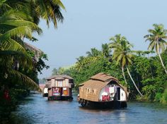 #Alleppey #BackWater - #AlleppeyTourism is Famous for Backwater