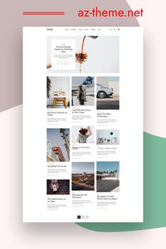 Clean, bright, and classy, Molle is an airy WordPress blog theme designed to stage your content in structured elegance. The minimal style and color palette of this blog design means that the template will provide a structure that will work excellently for both business websites and blogs. Moreover, the easy readability will make it a joy for your readers to discover your content. Purchasing this theme you take advantage of Free Support & Installation.