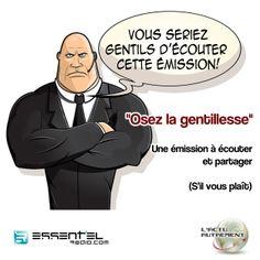 Résolution de la semaine : on ose la gentillesse ! ==> http://www.essentielradio.com/radio/podcasts/l-actu-autrement-9.html