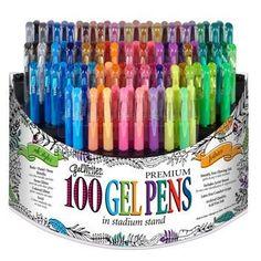 100 Gel Pens Giveaway {US} {CA} ENDS 2016-09-14 via... IFTTT reddit giveaways freebies contests