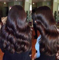 This hair looks so perfect. Beautiful Long Hair, Gorgeous Hair, Wavy Hair, Her Hair, Wavy Curls, Shiny Hair, Curly Hair Styles, Natural Hair Styles, Hair Laid
