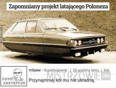Zapomniany projekt latającego Poloneza –
