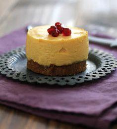On dine chez Nanou: Cheesecake individuel mangue/citron et spéculoos (sans cuisson)