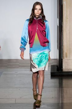 See the entire collection from the Jonathan Saunders Spring 2014 Ready-to-Wear runway show. Spring 2014, Spring Summer, Summer 2014, Jonathan Saunders, David Koma, Ready To Wear, Sequin Skirt, Runway, Fashion Design