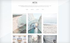 Free Grid Theme Mesa tumblr theme