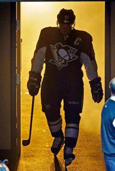 Pittsburgh Penguins' Sidney Crosby