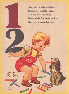 counting rhymes 11 by Pretty Little Studio, via Flickr
