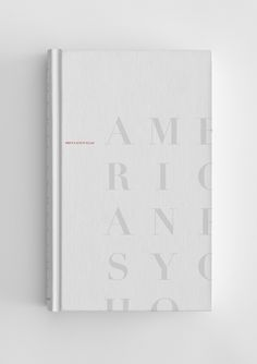 American Psycho by Bret Easton Ellis. Cover designed by Michael Luong.