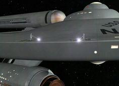 Enterprise - close up of the original filming model