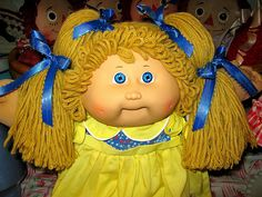 cabbage patch ~ I love cabbage patch & collect them.  This is a pretty one.
