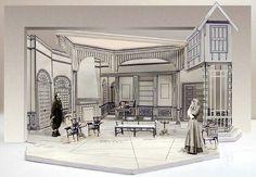 Spider's Web by Agatha Christie - Set Design by Richard Finkelstein, Stage Designer