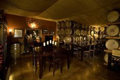 Bourassa Vineyards - Napa, CA, United States. The Private Reserve Room