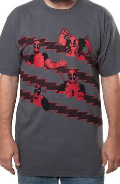 Deadpool Stripes Shirt
