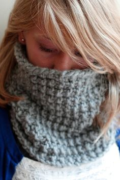 cowl | Cozy, Hand-Knit Cowl by Taylor House