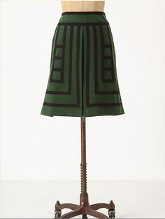 Anthropologie Tsuga skirt, fall 2011. I want to try to recreate this with the Colette Ginger pattern.